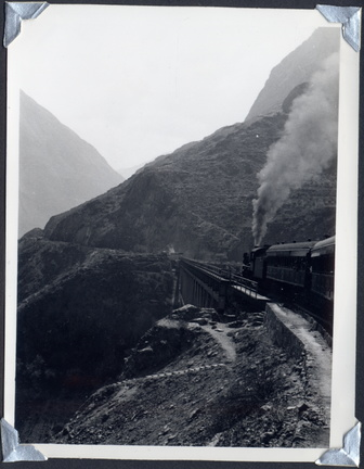 Route from Callao to Lima October 1964