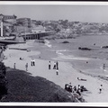 Beach at Valparaiso October 1964