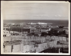 View of Punta Arenas from poor quarter.29 October 1964 - 9 Nov 1964