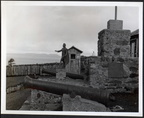Remains of old fort, Punta Arenas.29 October 1964 - 9 Nov 1964